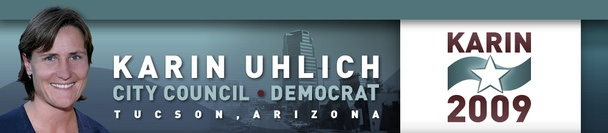 Karin Uhlich for Tucson City Council 2009